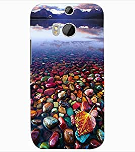 ColourCraft Beautiful Image Design Back Case Cover for HTC ONE M8