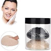 Runde Reinigung Face Konjac Schwamm, 2 Stück tief sanfte Reinigung Poren-Peeling Peeling-Reiniger für fettige... preisvergleich bei billige-tabletten.eu