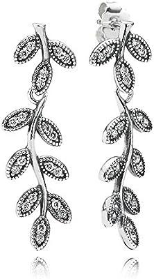 Pandora 290565CZ - Pendientes de plata con circonita