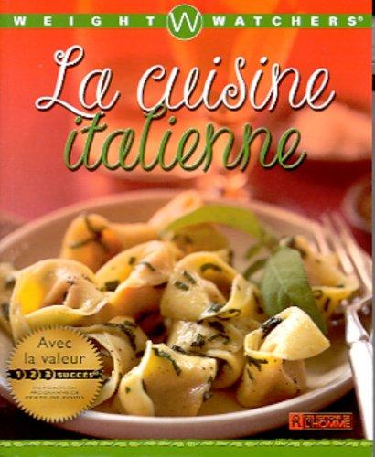 Weight Watchers - Cuisine italienne