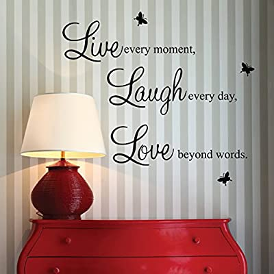 English Letters Pattern Wallpapers for Home Decoration - cheap UK light shop.