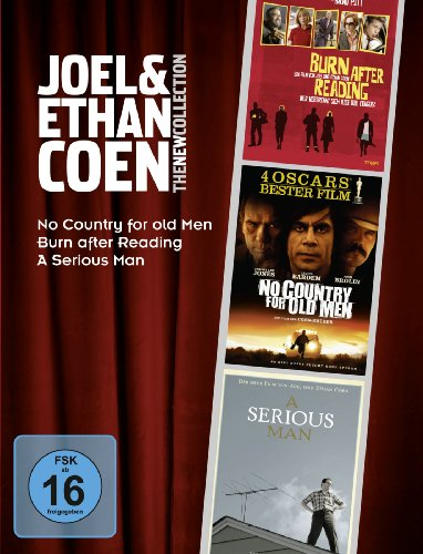 Bild von Joel & Ethan Coen - The New Collection (Burn After Reading, No Country For Old Men, A Serious Man) [3 DVDs]