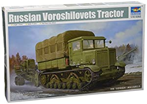 Trumpeter 01573 Voroshilovets - Tractor de artillería Pesada soviética en Miniatura (Escala 1:35)