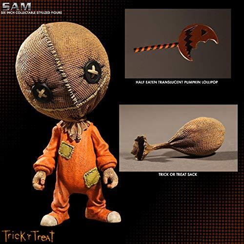 Tronzo 15 cm Gliedmaßen Bewegliche Trick'r Treat Halloween Action Figure Spielzeug Horrible Pumpkin Head Sam Modell Puppe Geschenk Für Kinder