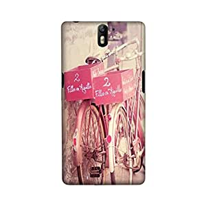 StyleO OnePlus One designer case and cover printed back cover two bicycle