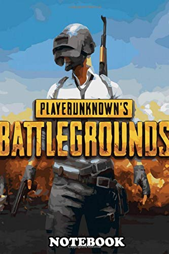 """Notebook: Pubg Poster 5 , Journal for Writing, College Ruled Size 6"""" x 9"""", 110 Pages"""