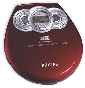 philips exp 320 rouge lecteur de cd lecteurs. Black Bedroom Furniture Sets. Home Design Ideas