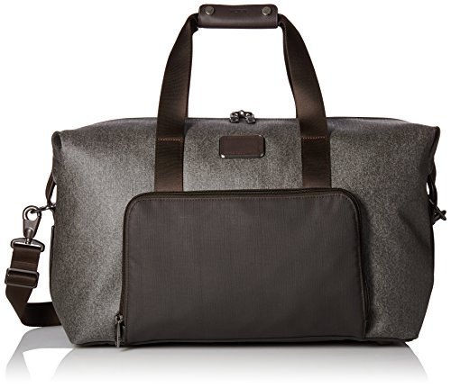 Tumi Alpha 2 Double Expansion Travel Satchel Carry On Luggage, Earl Grey