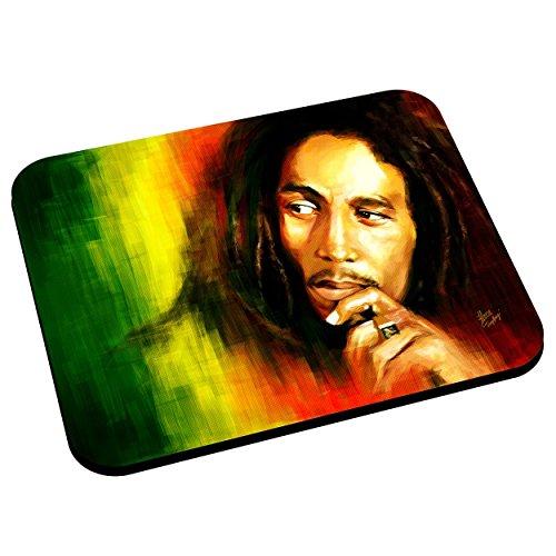 Tappetini per il mouse Bob marley leggenda Rastafari musica reggae jamaica