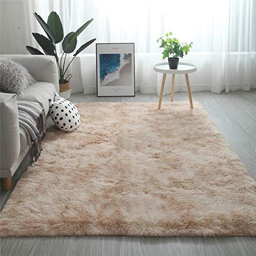 Shaggy-Teppich | Flauschiger Hochflor für Wohnzimmer, Schlafzimmer, Kinderzimmer oder Flur Läufer | einfarbig, schadstoffgeprüft, allergikergeeignet | Grau,G -