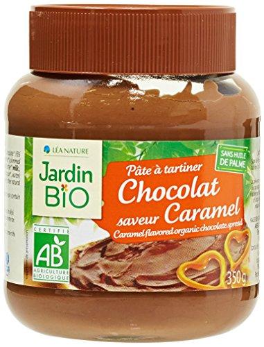 Jardin Bio Pâte à Tartiner Chocolat Saveur Caramel 350 g - Lot de 3