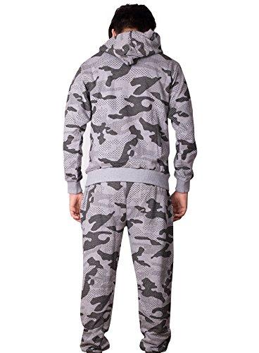 Black Rock -  Tuta da ginnastica  - Uomo Camouflage - Grau
