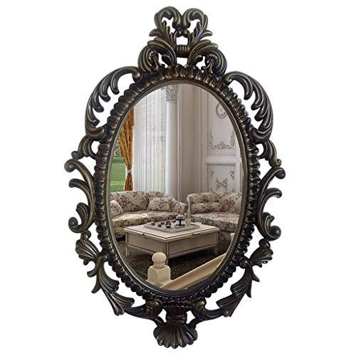 Wandspiegel, Badspiegel, Kosmetikspiegel Zur Wandmontage, Halblanger Spiegel, Rasierspiegel, 45 X 71 cm (Color : B)