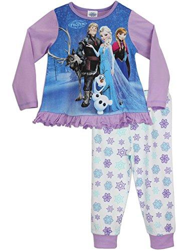 Disney Mädchen Schlafanzug Mehrfarbig bunt