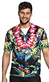 Hawaiihemd Party-Shirt 3D Optik Beach Boy Dschungel (L)