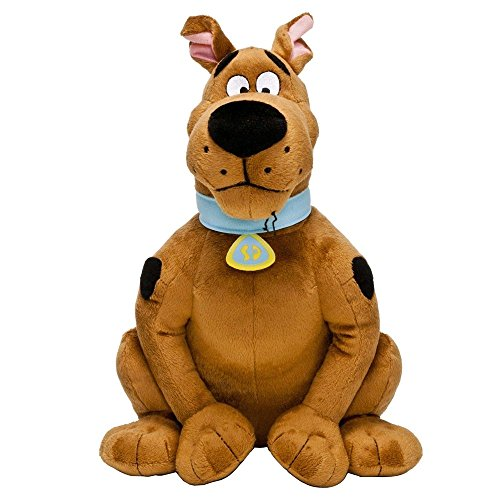 Felpa de SCOOBY DOO Perro Sentado 18cm Original CARTOON NETWORK Dibujo