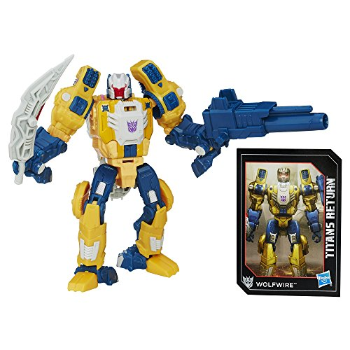 Transformers Generations Titans Return Titan Master Monxo and Wolfwire Action Figure (Action Master Transformers)