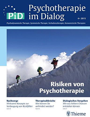 Psychotherapie im Dialog - Risiken von Psychotherapie