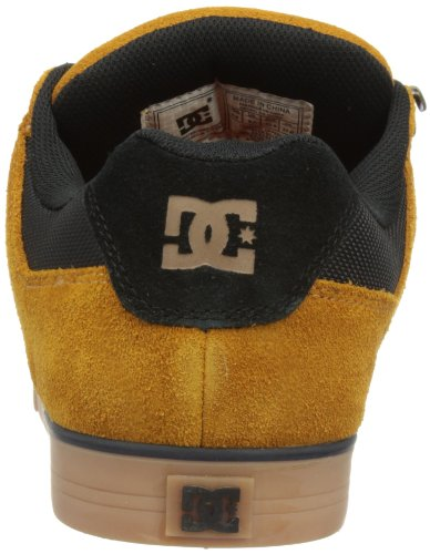 DC Shoes  Pure Slim WR Shoe,  Herren Skateschuhe Wheat/Black