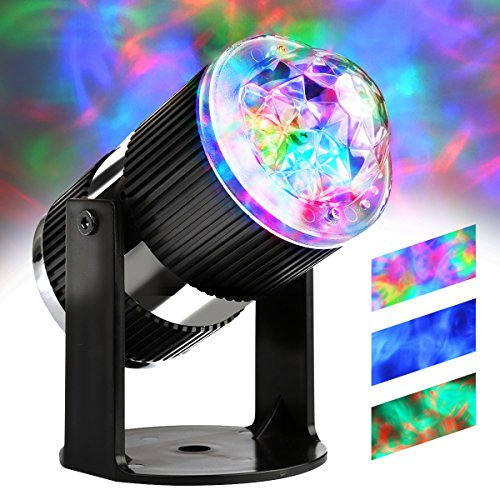 LED Luce Aurora RGB Effetto Nuvola Flussa con Controllo della Velocità Modalità...