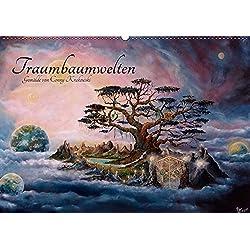 Traumbaumwelten - Gemälde von Conny Krakowski (Wandkalender 2019 DIN A2 quer): Kommen Sie mit zu den zauberhaften Traumbaumwelten! (Monatskalender, 14 Seiten ) (CALVENDO Kunst)