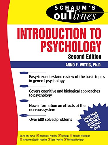 Schaum's Outline of Introduction to Psychology (Schaum's Outline Series)