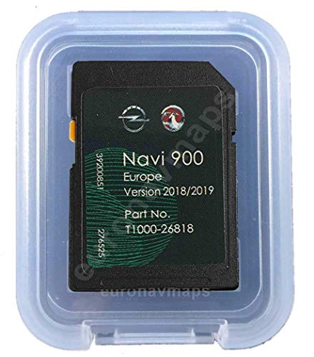 SD Karte GPS Opel NAVI600 NAVI900 Europe 2018/2019 - T1000-26818 (Sd-karte-navigations-system)