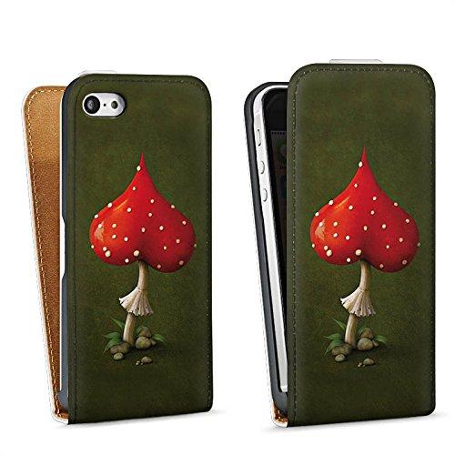 Apple iPhone 4 Housse Étui Silicone Coque Protection Amour Amour C½ur Sac Downflip blanc
