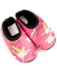 Surfit Girl's Camou - Traje de natación para niña, tamaño 3 - 4 años, color rosa camuflaje