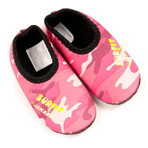 Surfit - Scarpe da piscina in neoprene, per bambina - Pink Camou