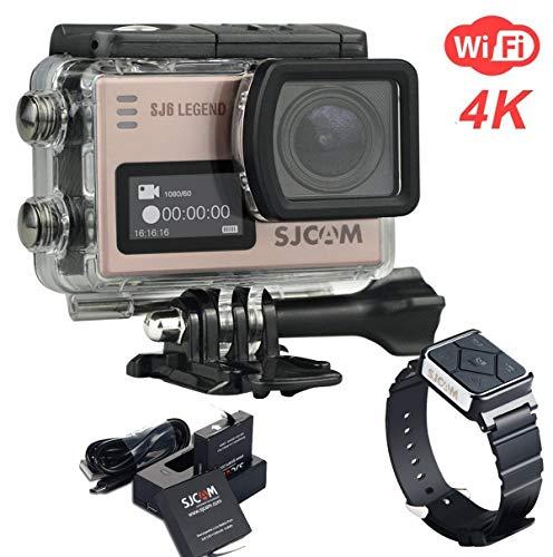 ZIHENGUO SJ6 Legend Sport Action Kamera 4 Karat Ultra HD Wasserdichte Camcorder 16MP WiFi Fernbedienung Action Video Cam Auto DRV Novatek96660 Gyro,Pink