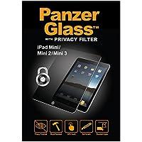 Panzer Glass PGP1050 - Protector de pantalla de cristal resistente a rasguños y líquidos compatible con Apple iPad Mini, Mini 2 y Mini 3 Privacy