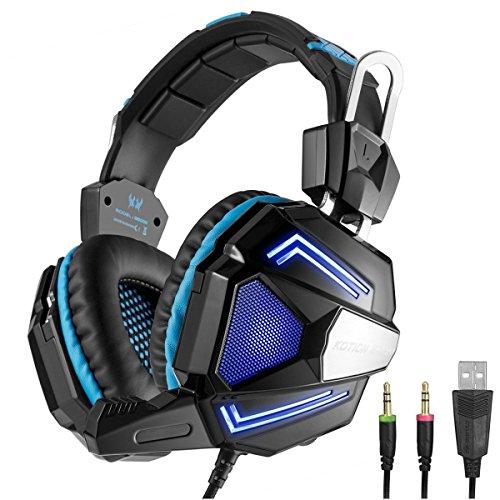 KOTION EACH G5000 Gaming Auriculares Estéreo para Juegos de PC de 3.5