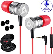 KLIM™ Fusion - In Ear Headphones with Mic + Excellent Audio Quality + Long-lasting Ear Buds + 5 years Warranty