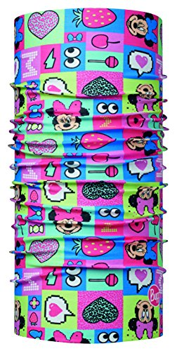 Buff Kinder Minnie Child ORIGINAL Funny PINK Multifunktionstuch, One Size Kinder-schal