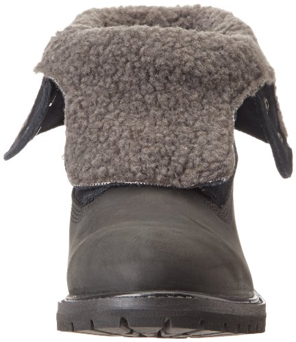 Timberland Authentics FTW_Teddy Fleece WP Fold Down Damen Stiefel Schwarz