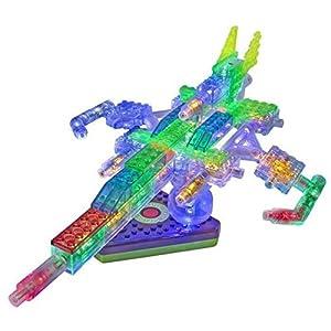 Laser Pegs G2100B Juego de construcción de avión de combate 205pieza(s) juego de construcción - juegos de construcción (Juego de construcción de avión de combate, 5 año(s), 205 pieza(s), Multicolor)