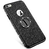 Uposao Compatible avec iPhone 6 Plus Coque,iPhone 6S Plus Glitter Coque,Bling...