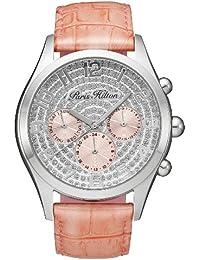 Paris Hilton PH13107JS-04B - Reloj analógico de cuarzo para mujer con correa de piel, color rosa