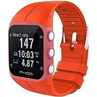 Reloj de pulsera para polar M400M430Fitness reloj, Reemplazo de silicona suave Watchband Wristband vneirw