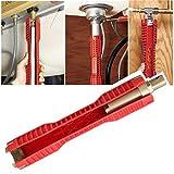 290X52Mm Sockel Schlüssel Doppel EsportsMJJ Kopf Wasserhahn Spüle Installateur Rot