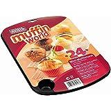 KAISER 24er Mini-Muffinform 38 x 27 cm Creativ sehr gute Antihaftbeschichtung kurze Backzeit für süße und herzhafte Rezepte
