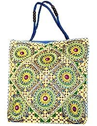 Shubhangi Women's Shoulder Bag (Jaipuri Embridered Handicraft Traditional Handbags,stylish Traditional Bag,Multi-Coloured... - B079KRYTML
