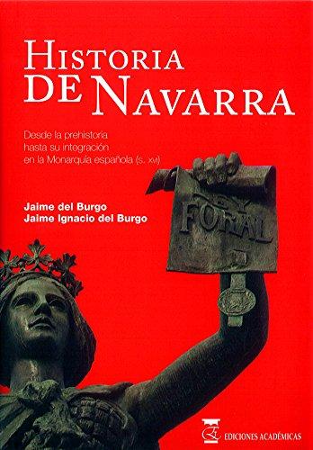 HISTORIA DE NAVARRA por JAIME IGNACIO DEL BURGO epub