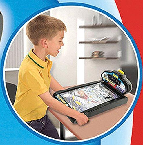 Flipper-fr-Kinder-Tischflipper-Pinball-mit-Licht-und-Sound