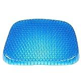 Gel Enhanced Sitzkissen Mit Anti-Rutsch-Abdeckung Breathable Honeycomb Design Absorbiert Druckpunkte Für Bürostuhl Auto Rollstuhl Und Rückenschmerzen Relief