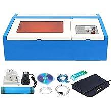Ridgeyard 40W CO2 porta USB Laser incisione macchina incisore Cutter DIY mestieri con pompa acqua