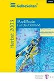 Gelbe Seiten + Map&Route Herbst 2003