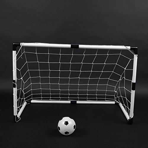 Kinder Fußballtor Teckpeak Fußballtor 2 Tore Mit Netz Ball Pumpe