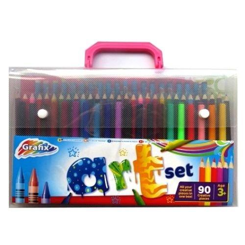Grafix 90pc Art Colouring Set